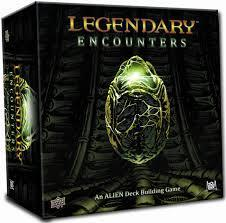 Legendary Encounters: An Alien Deck Building Game cover art