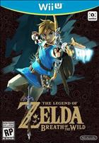 Game The Legend of Zelda: Breath of the Wild  Wii U cover art