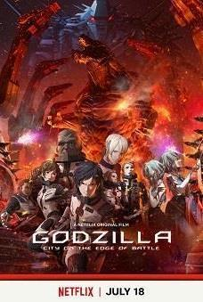 Godzilla: City on the Edge of Battle cover art