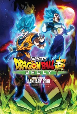 Dragon Ball Super: Broly cover art