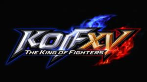 The King of Fighters XV cover art