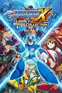 Mega Man X Legacy Collection cover art