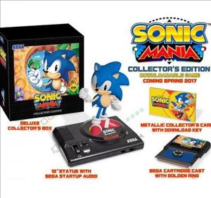 Sonic Mania Collector's Edition cover art