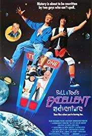 Bill & Ted's Excellent Adventure cover art