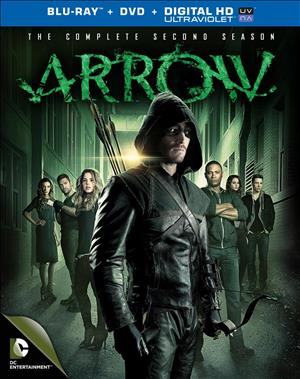 Arrow: The Complete Second Season cover art