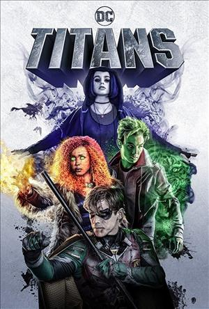 Titans Season 1 cover art