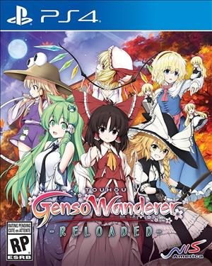 Touhou Genso Wanderer Reloaded cover art