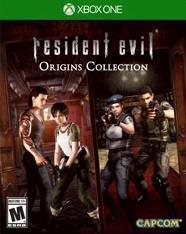 Resident Evil Origins Collection cover art