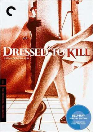 Dressed to Kill - Criterion Collection cover art