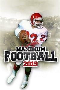 Maximum Football 2019 cover art