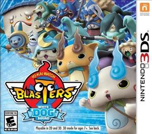 Yo-kai Watch Blasters: White Dog Squad cover art
