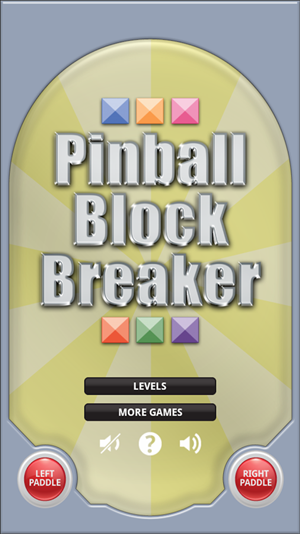 Pinball Block Breaker cover art