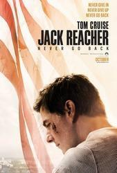 Jack Reacher: Never Go Back cover art
