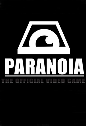 Paranoia: The Official Video Game cover art