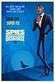 Spies in Disguise cover art