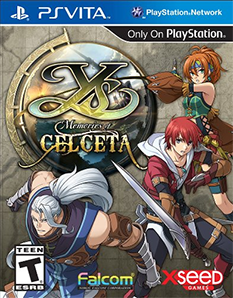 Ys: Memories of Celceta cover art