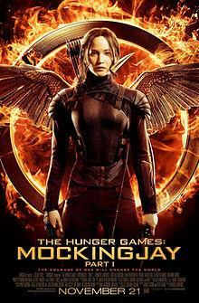 The Hunger Games: Mockingjay – Part 1 cover art