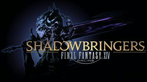 Final Fantasy XIV: Shadowbringers cover art