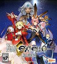 Fate/Extella: The Umbral Star cover art