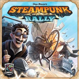 Steampunk Rally cover art