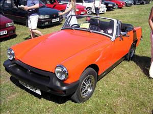 MG Midget 1500 cover art