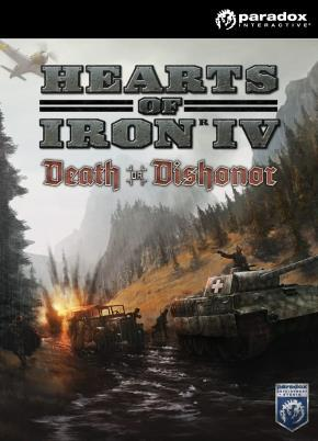 Hearts of Iron IV: Death or Dishonor cover art