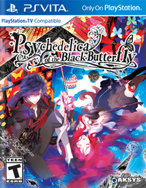 Psychedelica of the Black Butterfly cover art