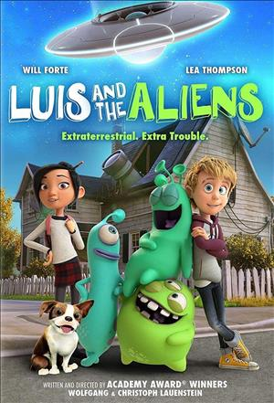 Luis and the Aliens cover art