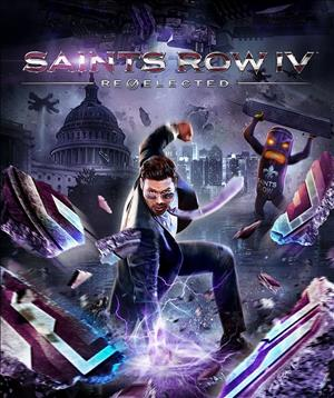 Saints Row IV: Re-Elected cover art
