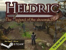 Heldric - The legend of the shoemaker cover art