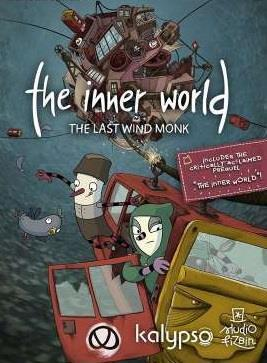 The Inner World - The Last Wind Monk cover art
