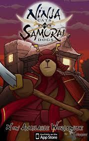 Ninja Cats vs Samurai Dogs cover art