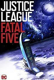 Justice League Vs. the Fatal Five cover art