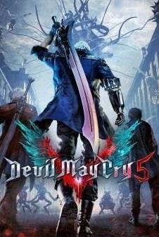 Devil May Cry 5 cover art