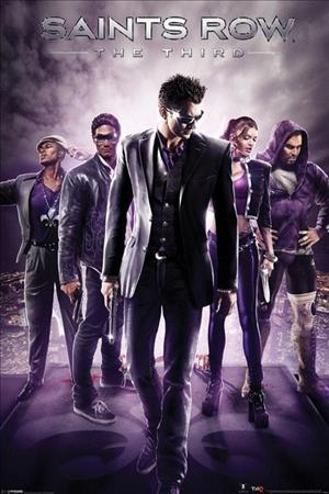 Saints Row: The Third cover art