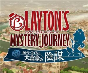 Layton's Mystery Journey: Katrielle and the Millionaires' Conspiracy cover art