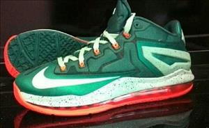 Nike LeBron 11 Low cover art