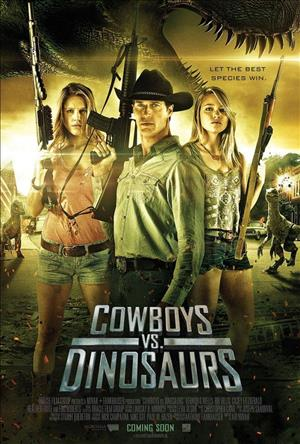Cowboys vs Dinosaurs cover art