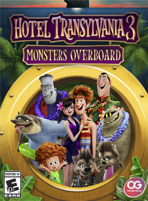 Hotel Transylvania 3: Monsters Overboard cover art