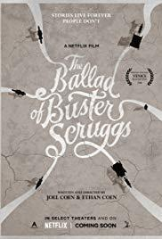 The Ballad of Buster Scruggs cover art