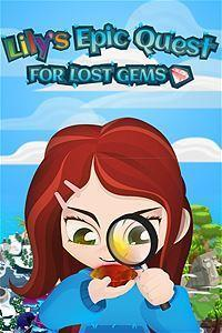 Lily's Epic Quest for Lost Gems cover art