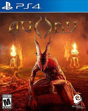Agony cover art