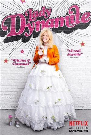 Lady Dynamite Season 2 cover art