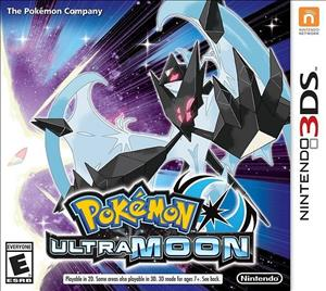 Pokemon Ultra Moon cover art