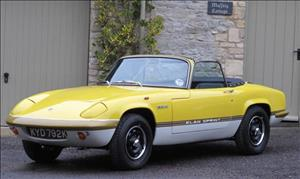 LOTUS Elan DHC cover art