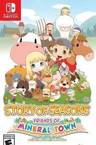 Story of Seasons: Friends of Mineral Town cover art