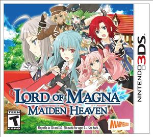 Lord of Magna: Maiden Heaven cover art