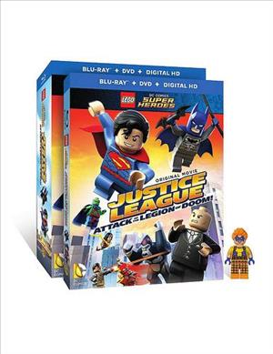 Lego: Justice League vs. Legion of Doom cover art