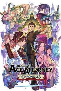 The Great Ace Attorney Chronicles cover art