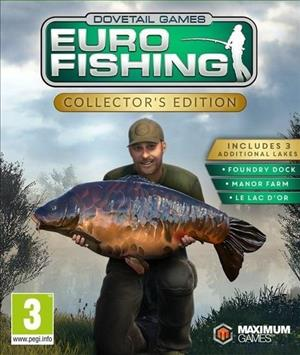 Euro Fishing Collector's Edition cover art